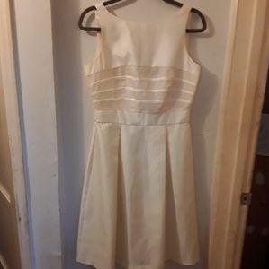 Taylor cream dress